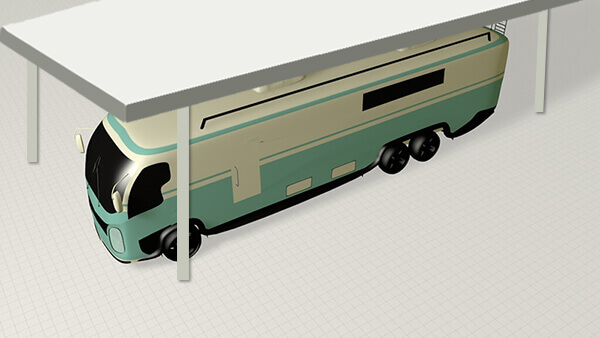 12 x 32 RV Covered